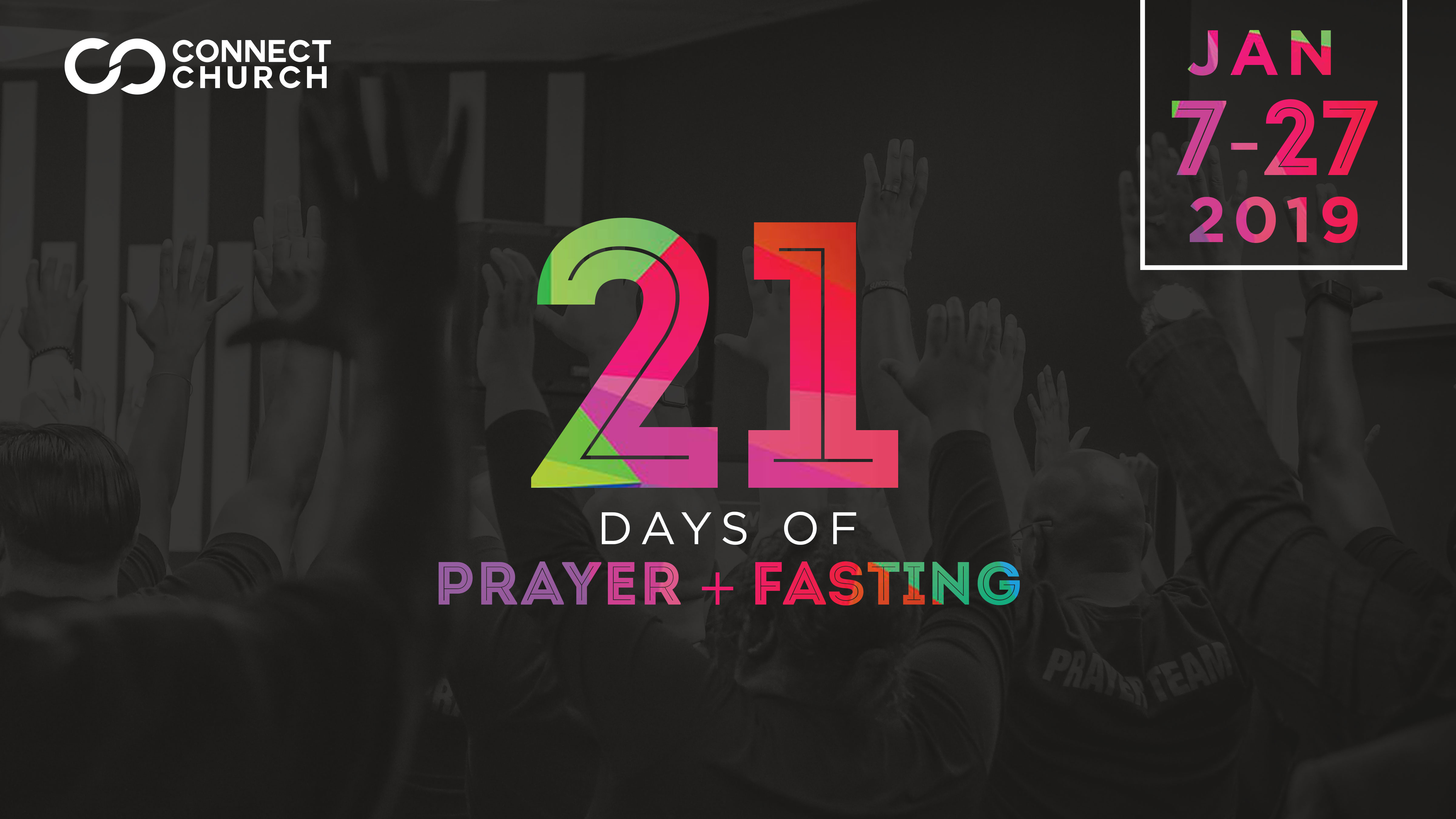 21 Days of Prayer & Fasting for 2019